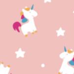 Unicorno Rosa Pastello / Multicolor