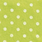 Pois Verde Pistacchio / Bianco