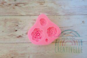 silicone rose resina fimo
